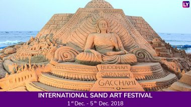 International Sand Art Festival 2018: Impressive Artworks Grace Odisha's Chandrabhaga Beach